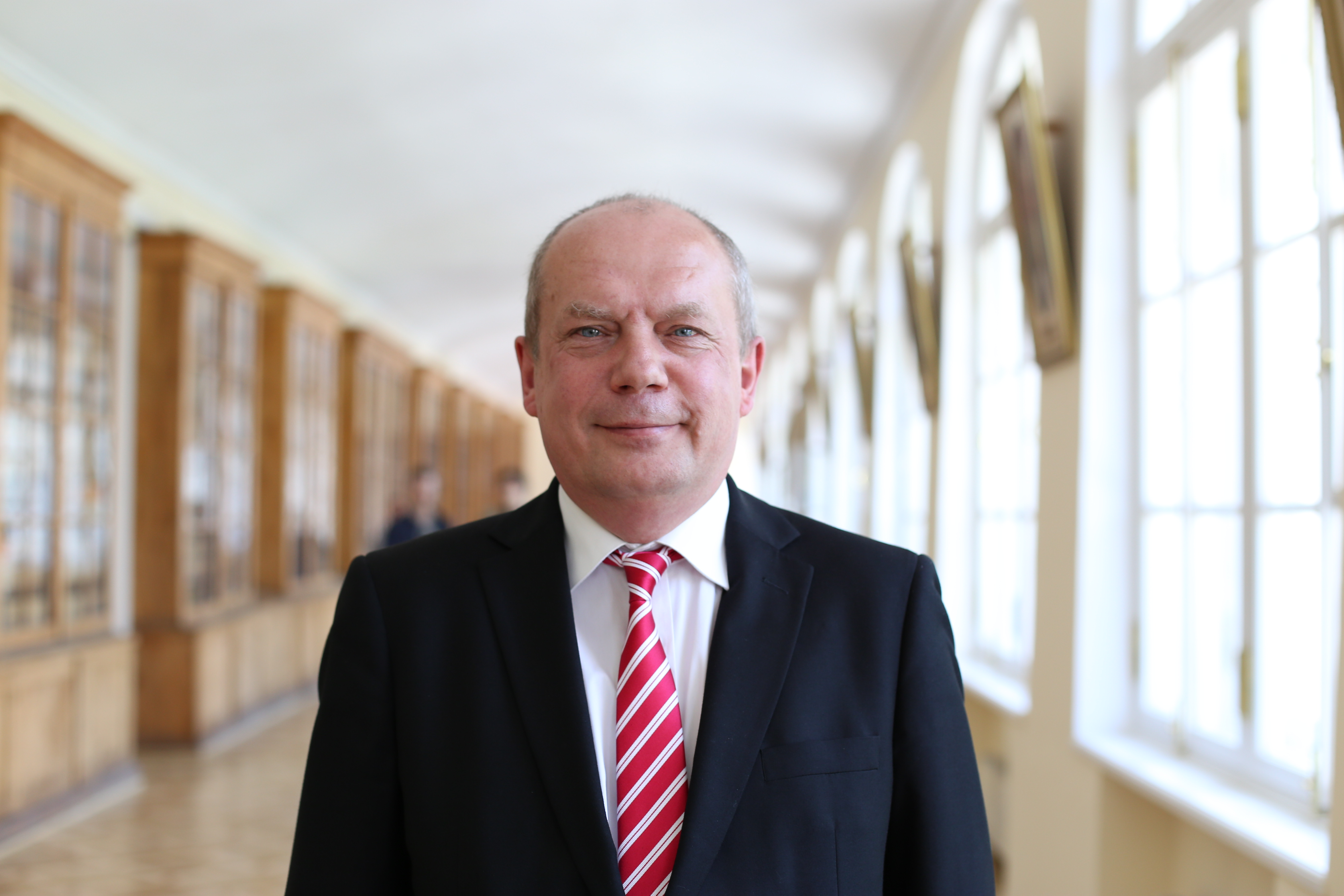 St. Petersburg University's Vice-Rector for Research, Sergei Allonov.