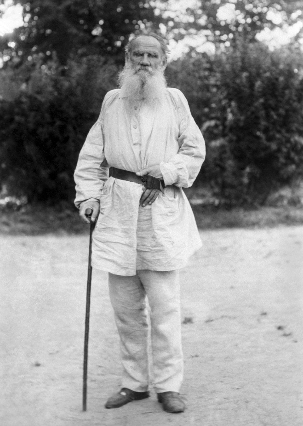 La foto di Lev Tolstoj. Fonte: TASS