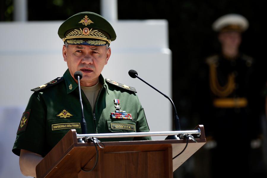 Menteri Pertahanan Rusia Sergei Shoigu.