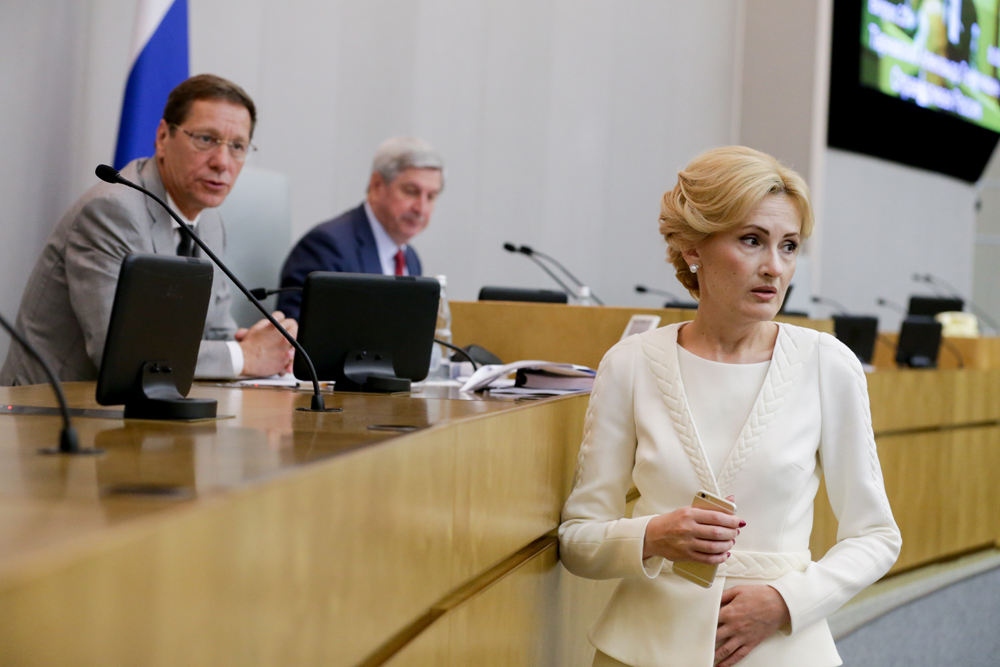 "A controversial package of ""anti-terrorist"" laws was initiated by State Duma deputy Irina Yarovaya and Federation Council member Viktor Ozerov."