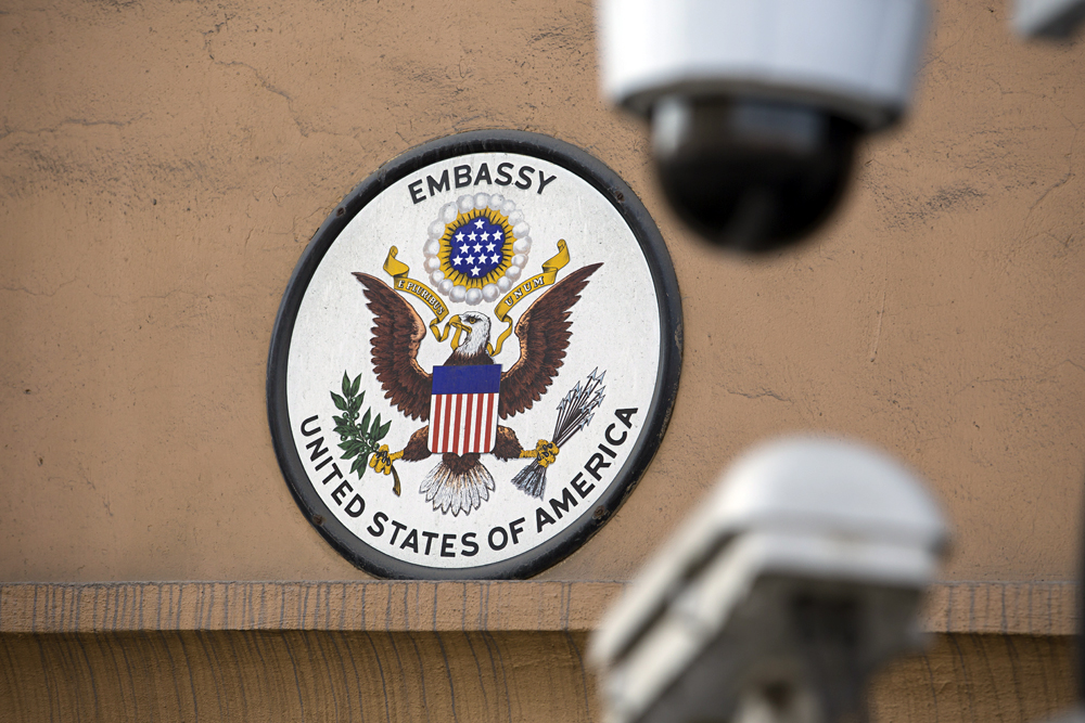 Mark Galeotti dismisses the idea that the Kremlin explicitly endorses the harassment of U.S. diplomatic staff but says the Russian security services could be acting on their own initiative. Photo: U.S. Embassy in Moscow.