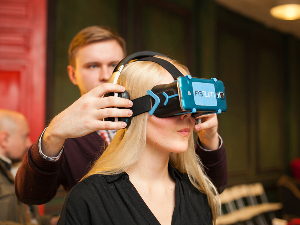 Users will be able to download apps for their VR headsets with the help of the Fibrum Platform. Source: Press Photo
