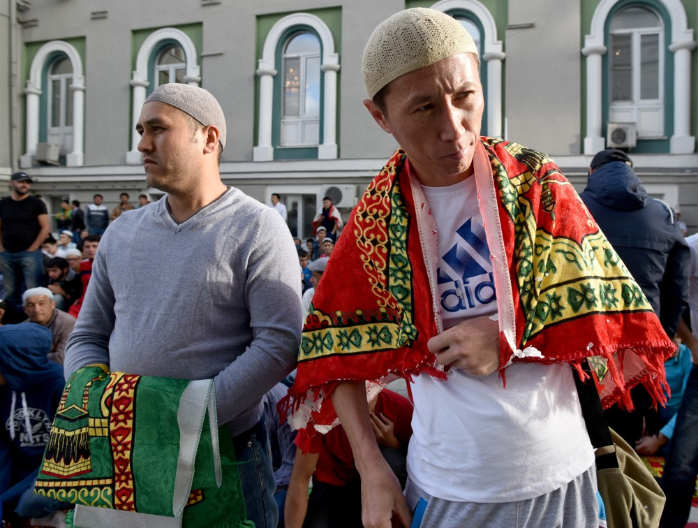 """Russian Muslims, by relying on centuries-old religious, historical and cultural traditions, widely celebrate this holiday – both in their communities and with friends and family. During these days, people usually summarize [their] spiritual achievements during the fast and attend to those who need help,"" said Putin."