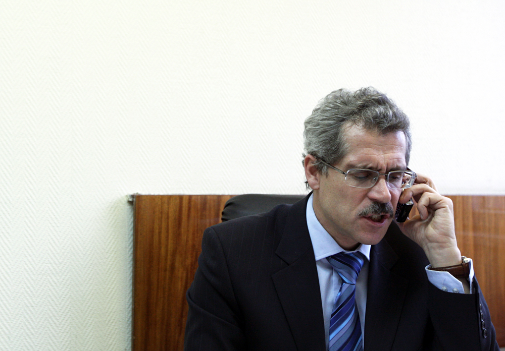 Former head of the Moscow anti-doping laboratory Grigory Rodchenkov.