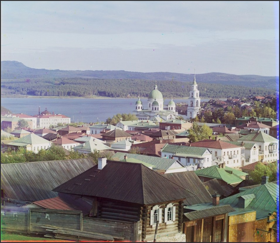 "The U.S. Library of Congress website hosts a virtual photo gallery titled, ""The Empire That Was Russia"" (http://www.loc.gov/exhibits/empire/), where it is possible to travel back in time and see what the country looked like at the beginning of the 20th century. // A view of Zlatoust from the west"