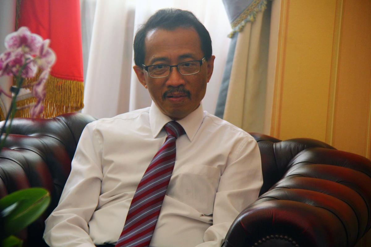 Duta Besar Indonesia untuk Rusia M. Wahid Supriyadi.
