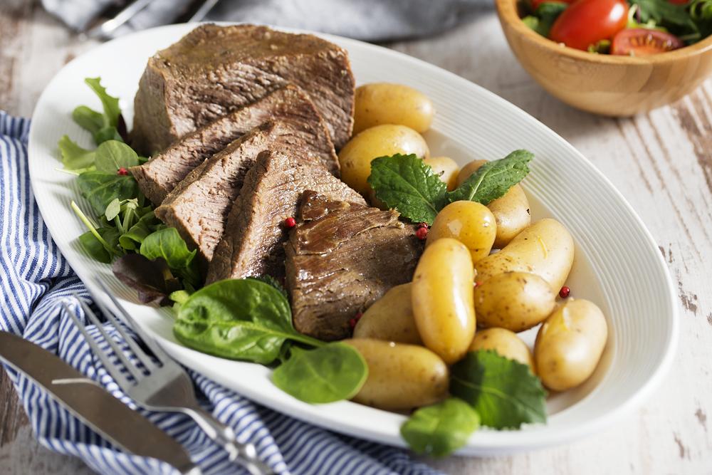 Carne assada com batatas era presença frequente na mesa imperial