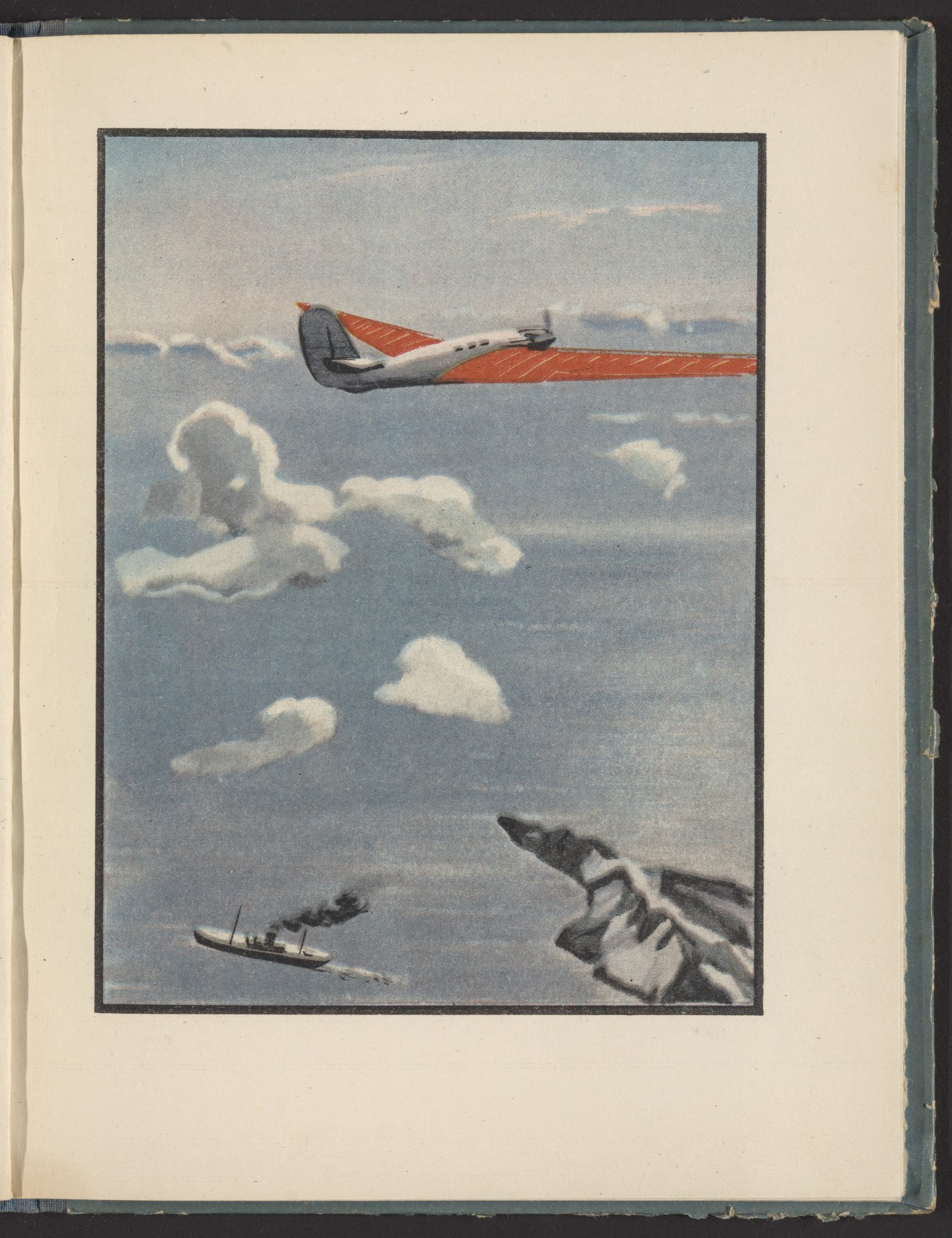 &#39Across the Pole to America&#39 (with illustrations by Alexander Deineka)