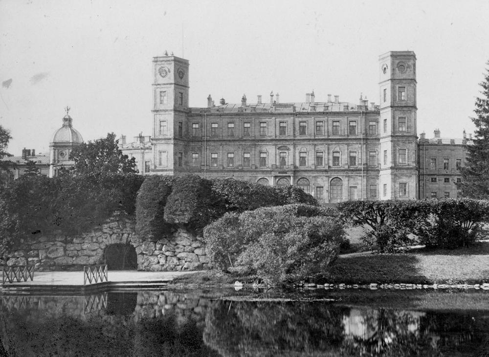 Gatchina Palace, 1870-80s, photo of S.I.Kudryavtsev. Source: Press photo