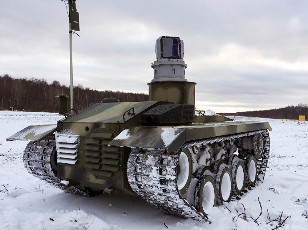 """Руският боен робот """"Нерехта"""""""