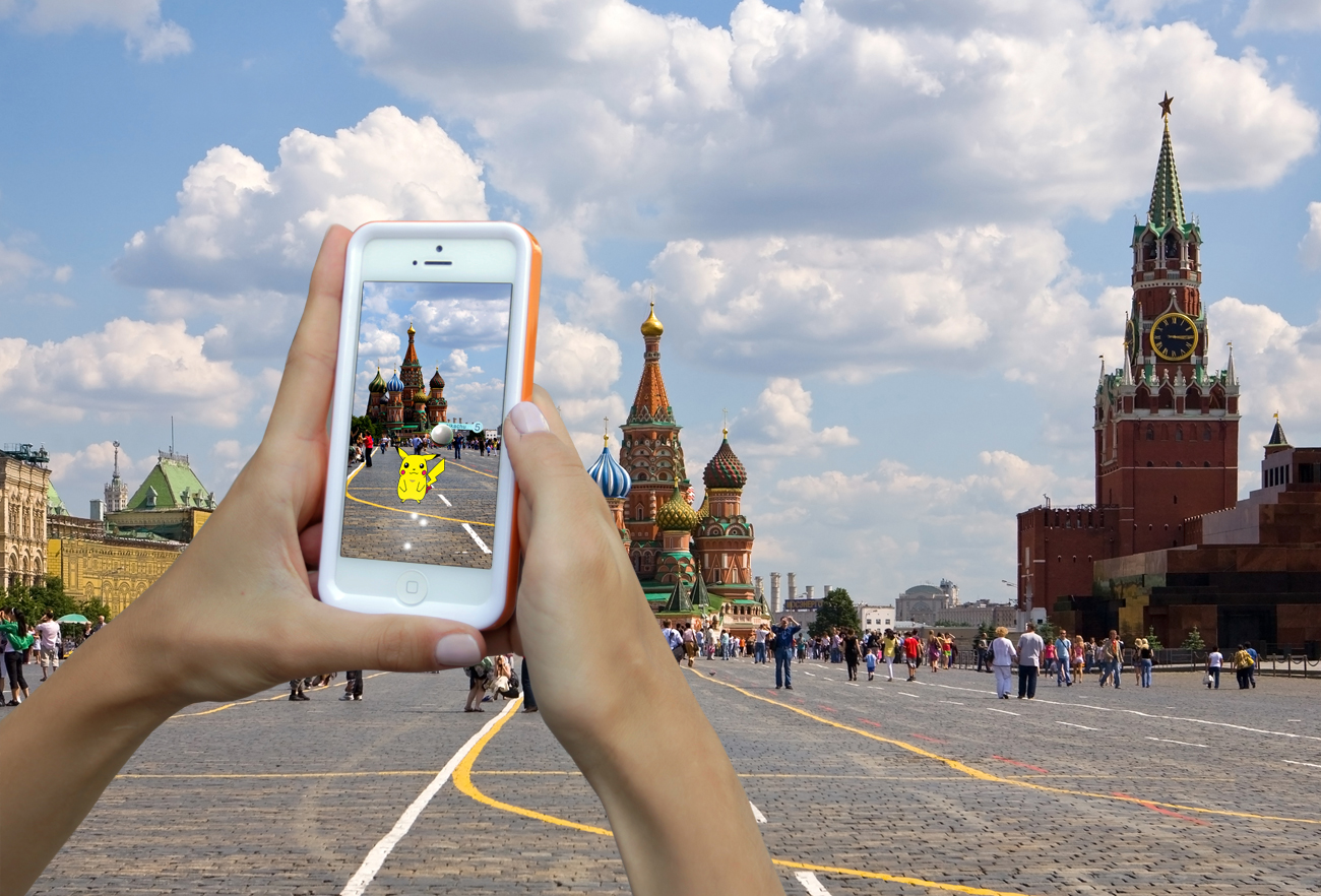 Pokémon Go still has not been officially released in Russia. But users can still download an APK-file to install it on their Android smartphones from an unofficial service.