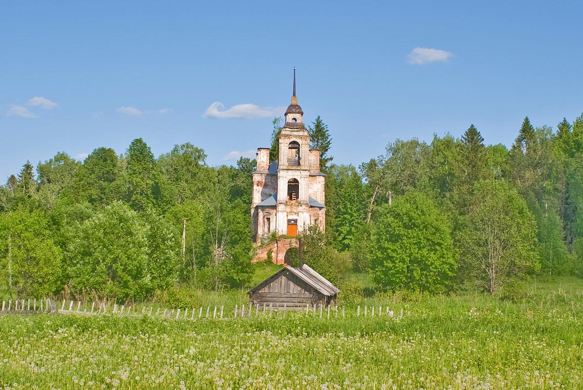 The church at Korovye: Abandoned treasure of Russian art