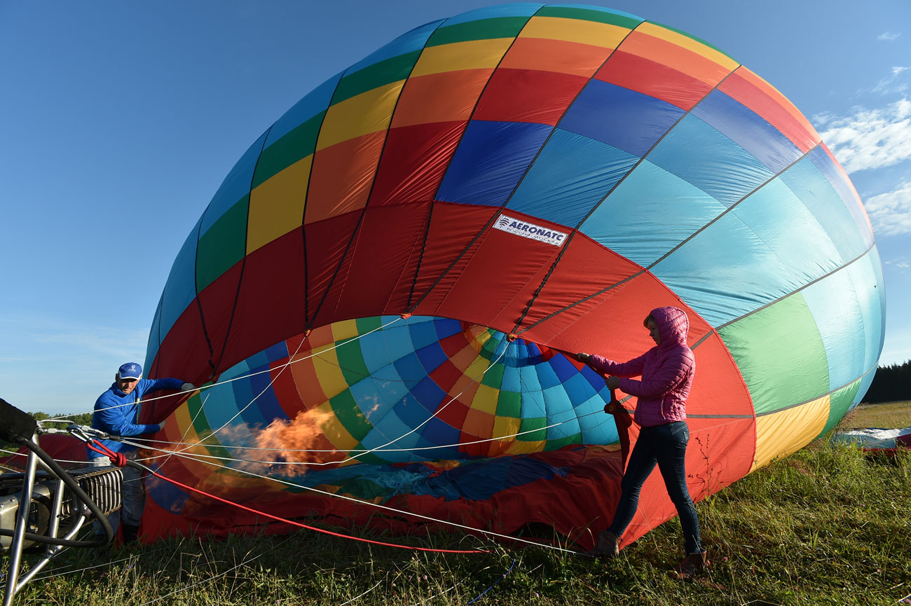 In ballooning everything depends on seamless teamwork.