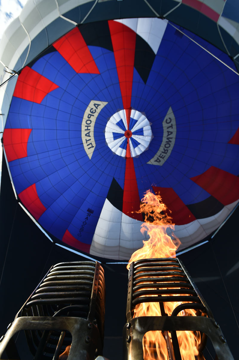 For balloonists, this annual festival is always the hottest date in the calendar.