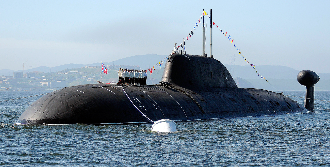 "Тихоокеанска флота натераће Американце да стално буду на опрезу. Вишенаменска јуришна подморница класе ""Ајкула""."