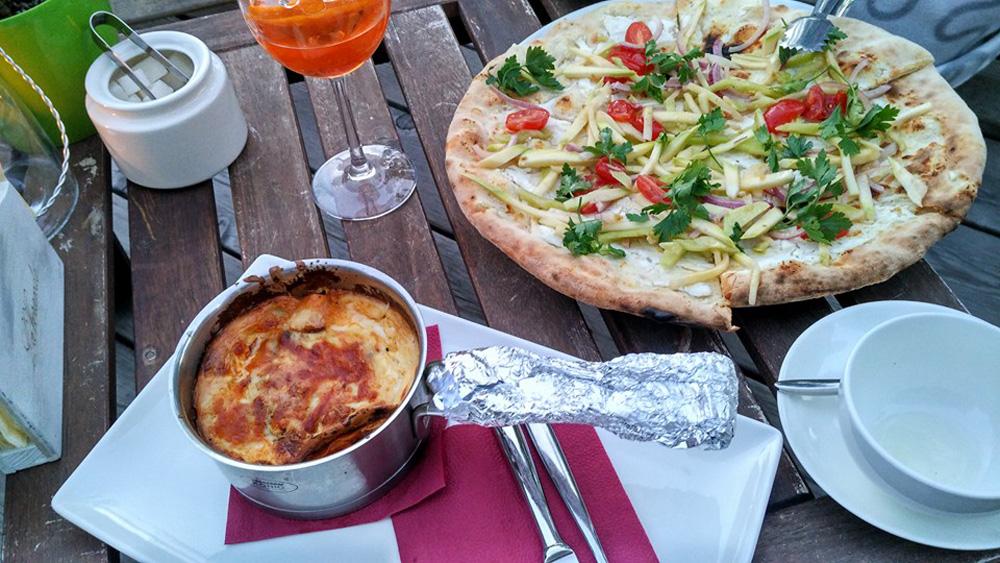 """Al ristorante italiano """"La veranda"""" ad Anapa. Fonte: Sofja Raevskaja"""