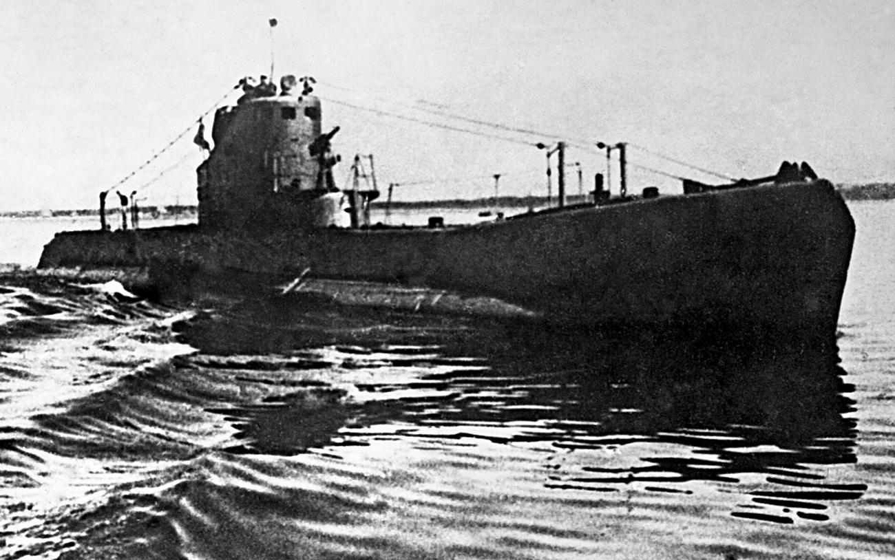 Sebuah kapal selam Shchuka selama Perang Dunia II. Museum Pusat Kemaritiman Sankt Peterburg. Sumber: Alexander Sokolenko / RIA Novosti