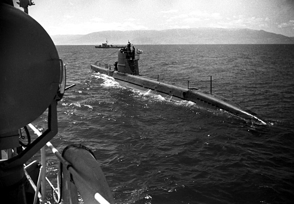 Бродови и подморници на Црноморската флота во мисија во 1942 година.
