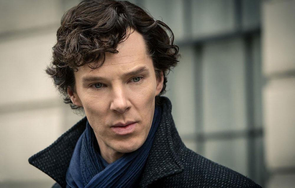 Benedict Cumberbatch kao Sherlock Holmes.