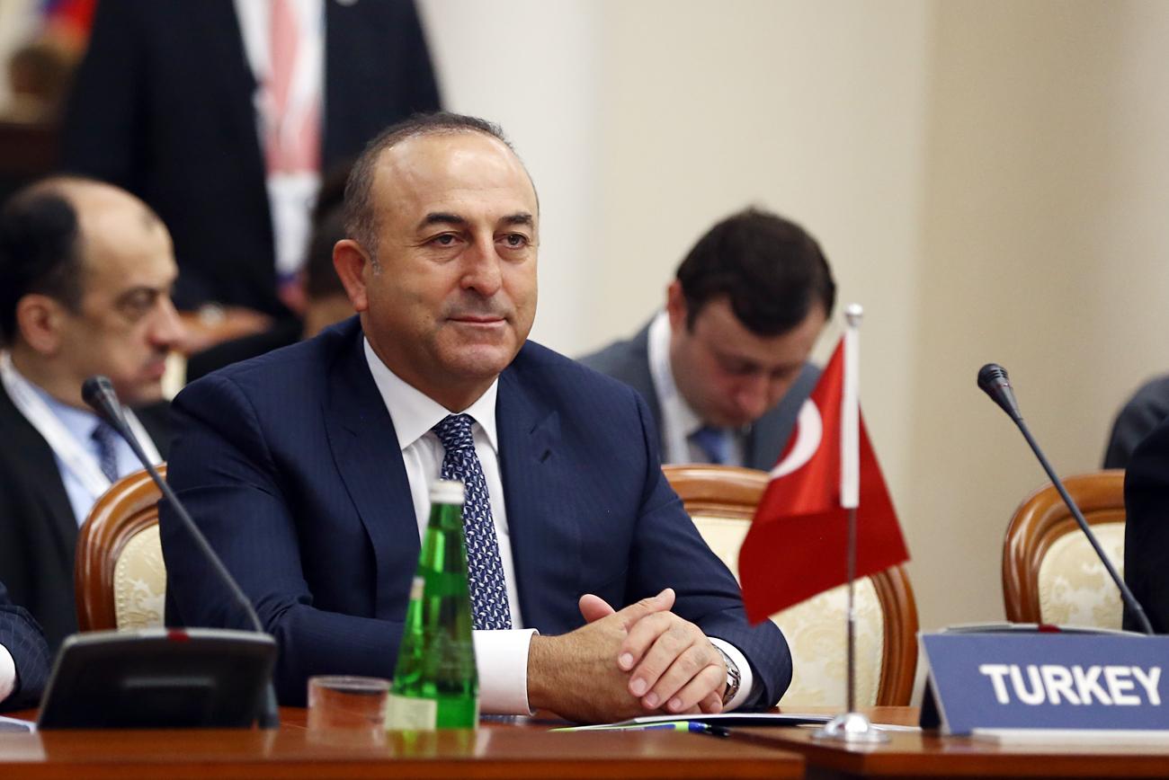 Menteri Luar Negeri Turki Mevlüt Çavuşoğlu.