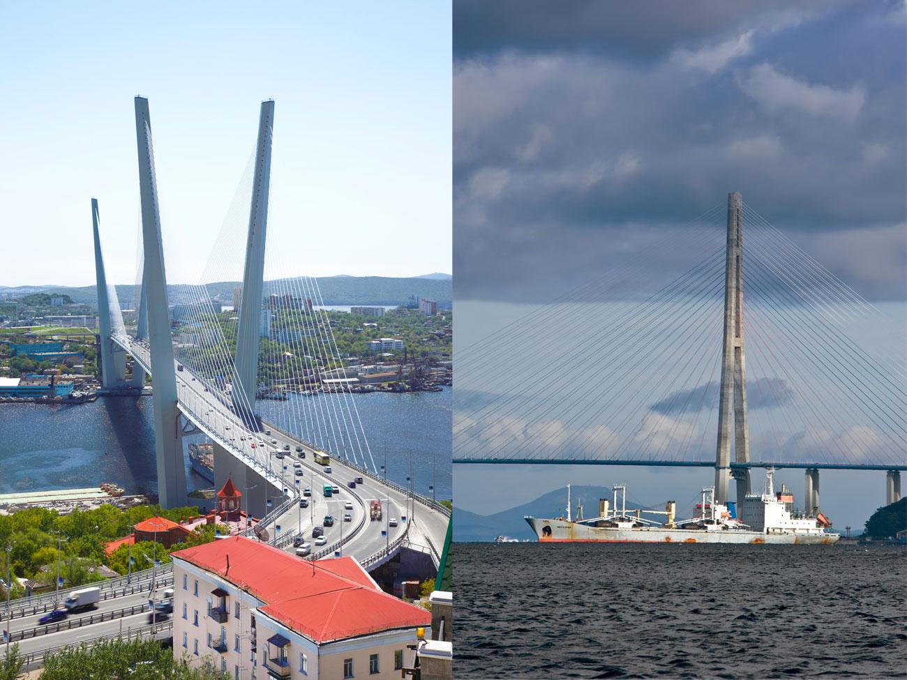 Победителите ще бъдат определени на финалното онлайн гласуване през септември. / Владивосток, най-предната точка на Русия на Тихия океан, очарова със своите многобройни острови и мостове.