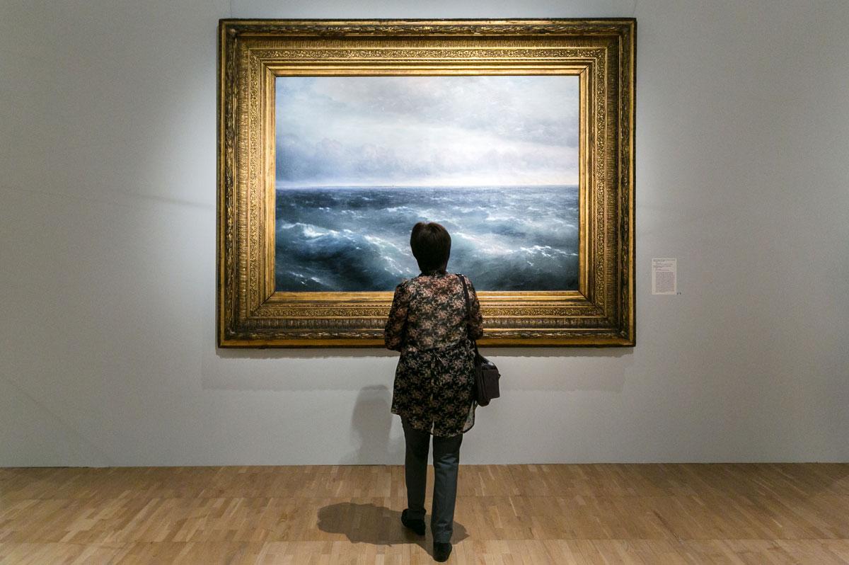 Aivazovsky in Tretyakov gallery