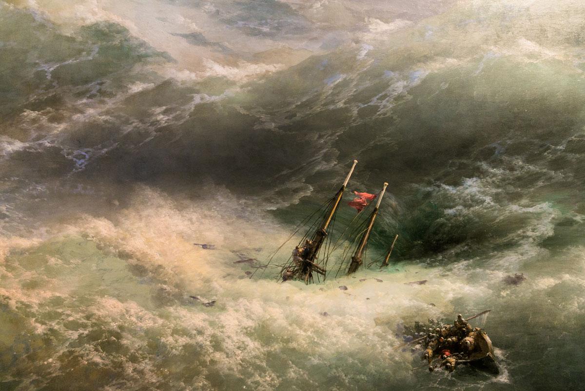 Слика на Ајвазовски во Третјаковската галерија