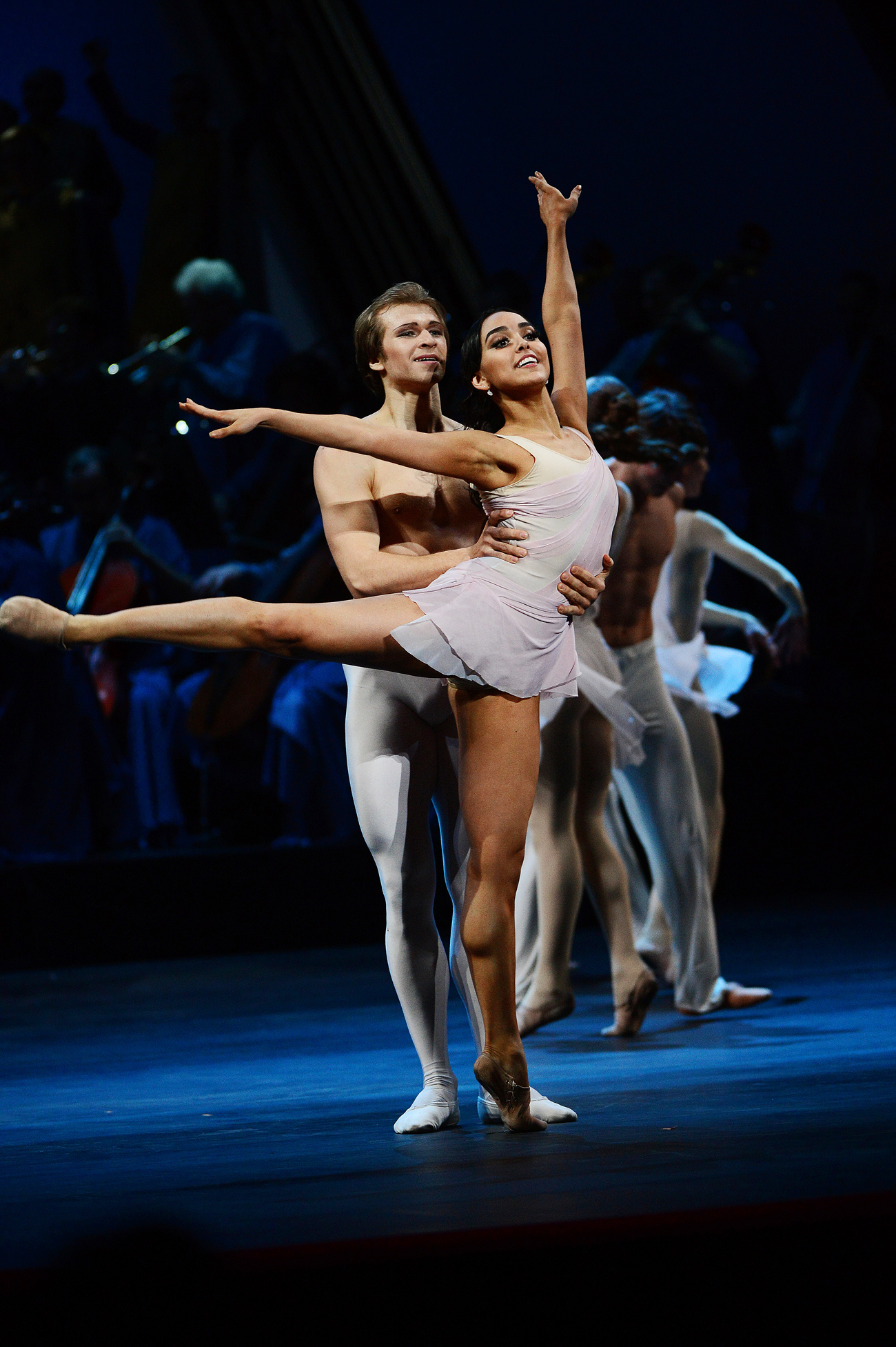 Na premiação, brasileira concorreu com outros 140 bailarinos