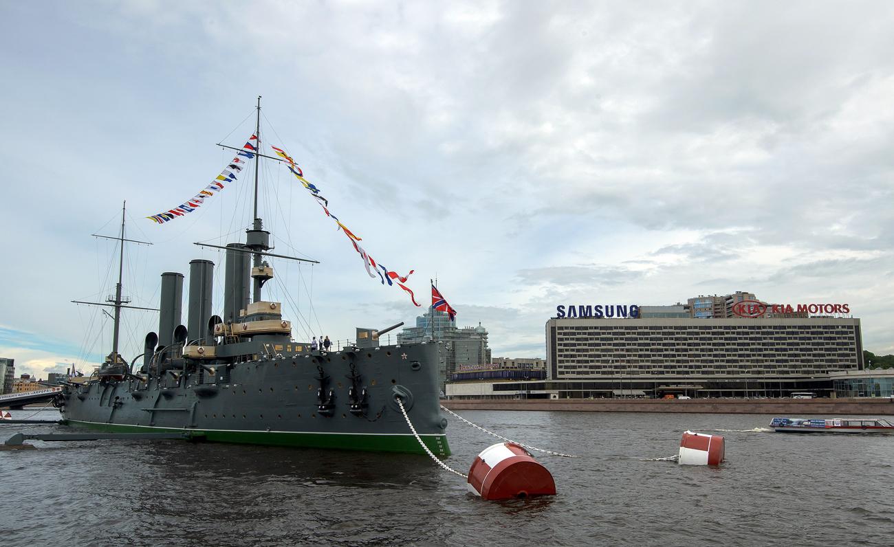 Le croiseur a rouvert après pratiquement deux ans de restauration.