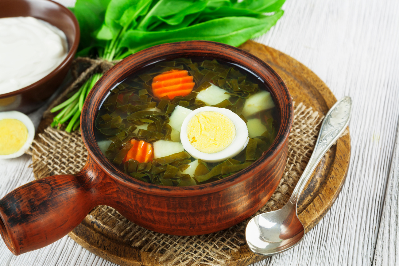 Water Herbs And Eggs The Recipe For A Healthy Quick