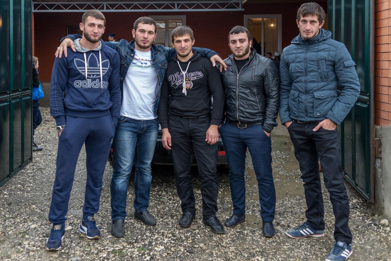 Friends of the groom. Source: Vladimir Sevrinovsky