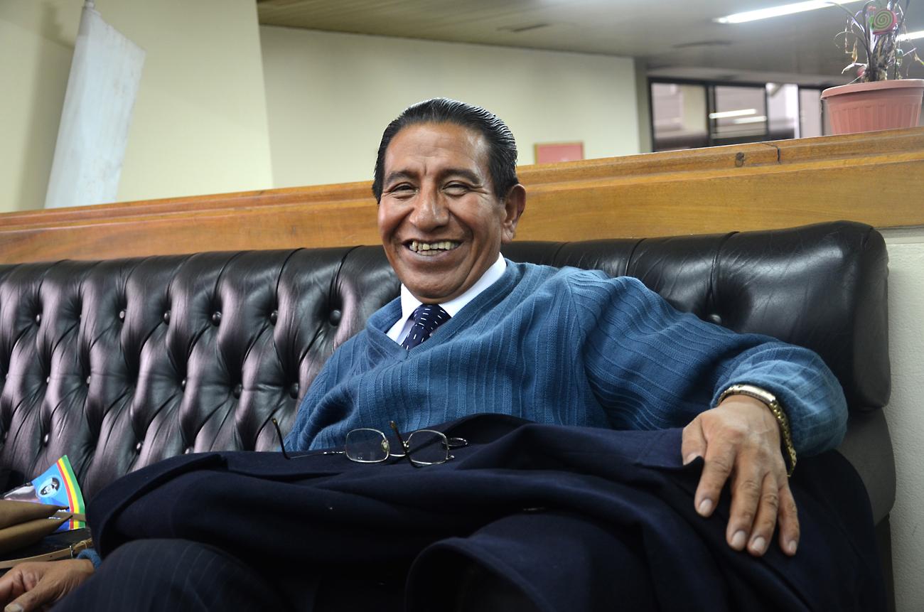 Dr. Silverio Chávez, director de la Agencia Boliviana de Energía Nuclear.
