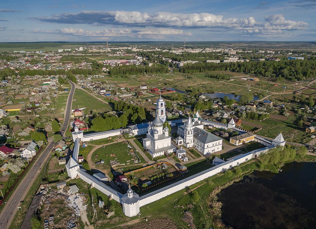 ペレスラヴリ・ザレスキー州にあるニキーツキー修道院。
