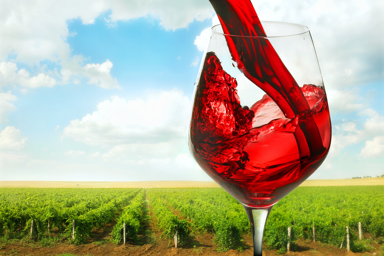 Many Russian high quality wines come from the vineyards of Crimea.