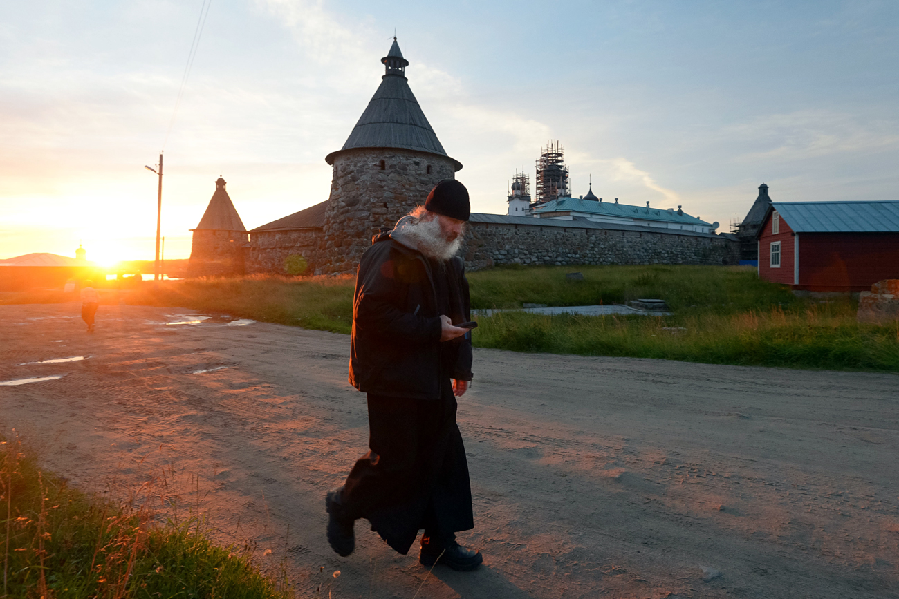 The Solovki stauropegic monastery.