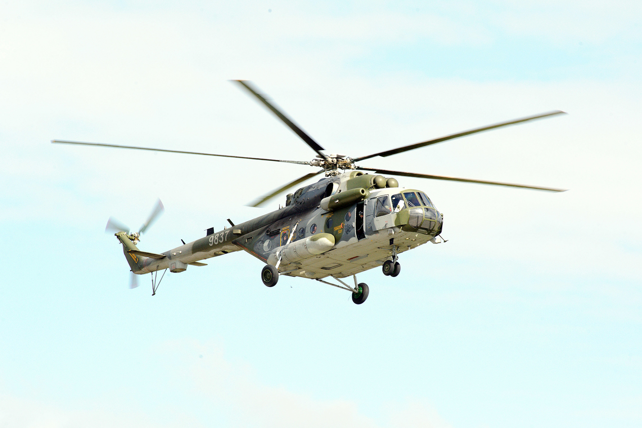 Mi-17 helicopters are among the most popular helicopters in their class