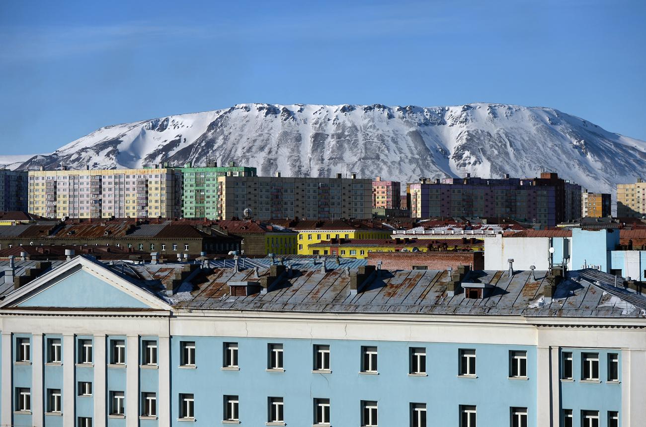 Ville gay de Norilsk