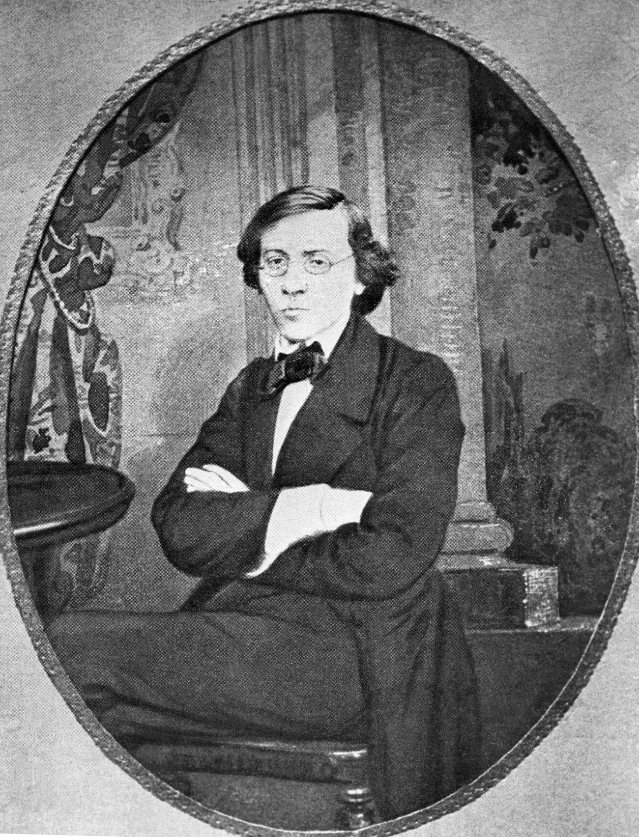 Nikolai Chernyshevsky in youth.