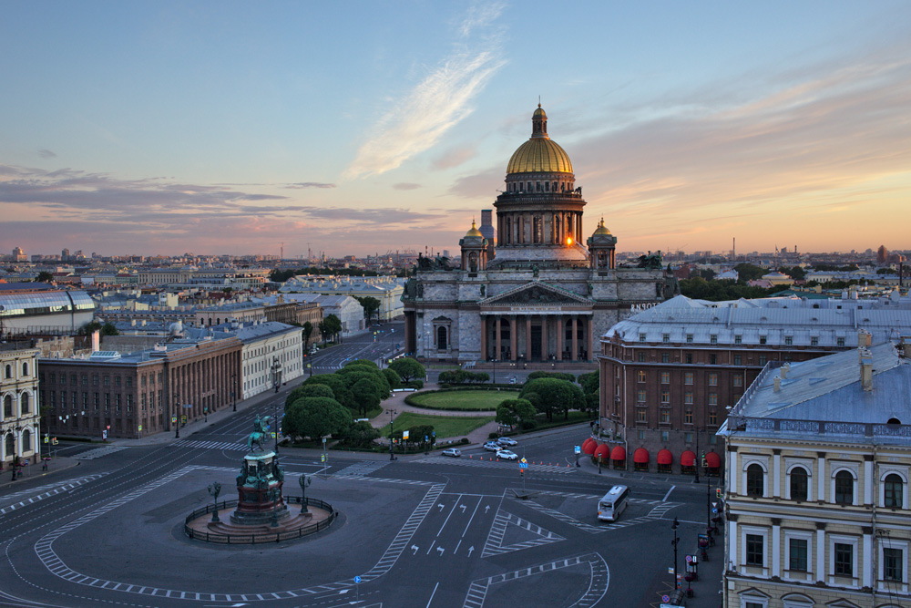 St. Petersburg is one of the most popular tourist destinations in Russia.