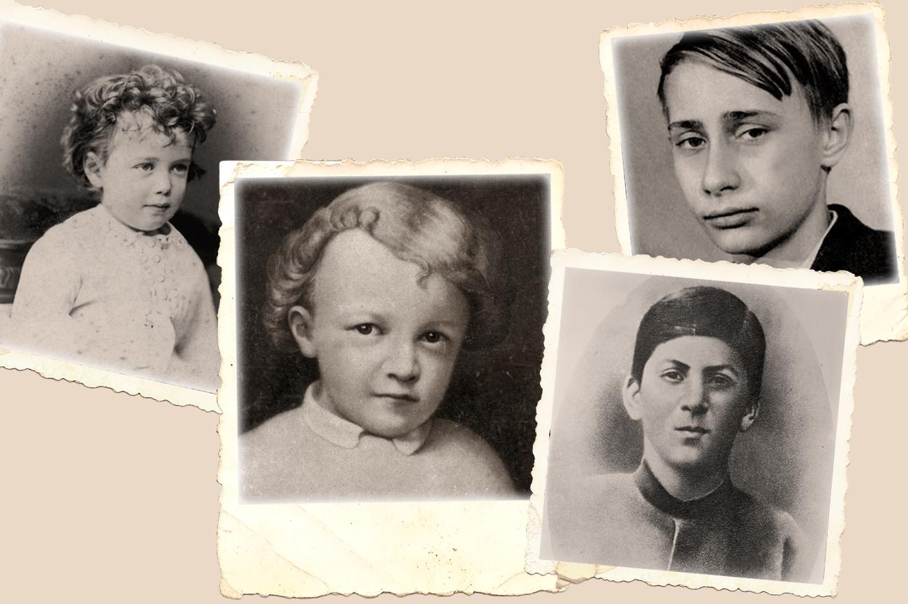 Bisakah Anda menebak foto-foto siapa saja ini?