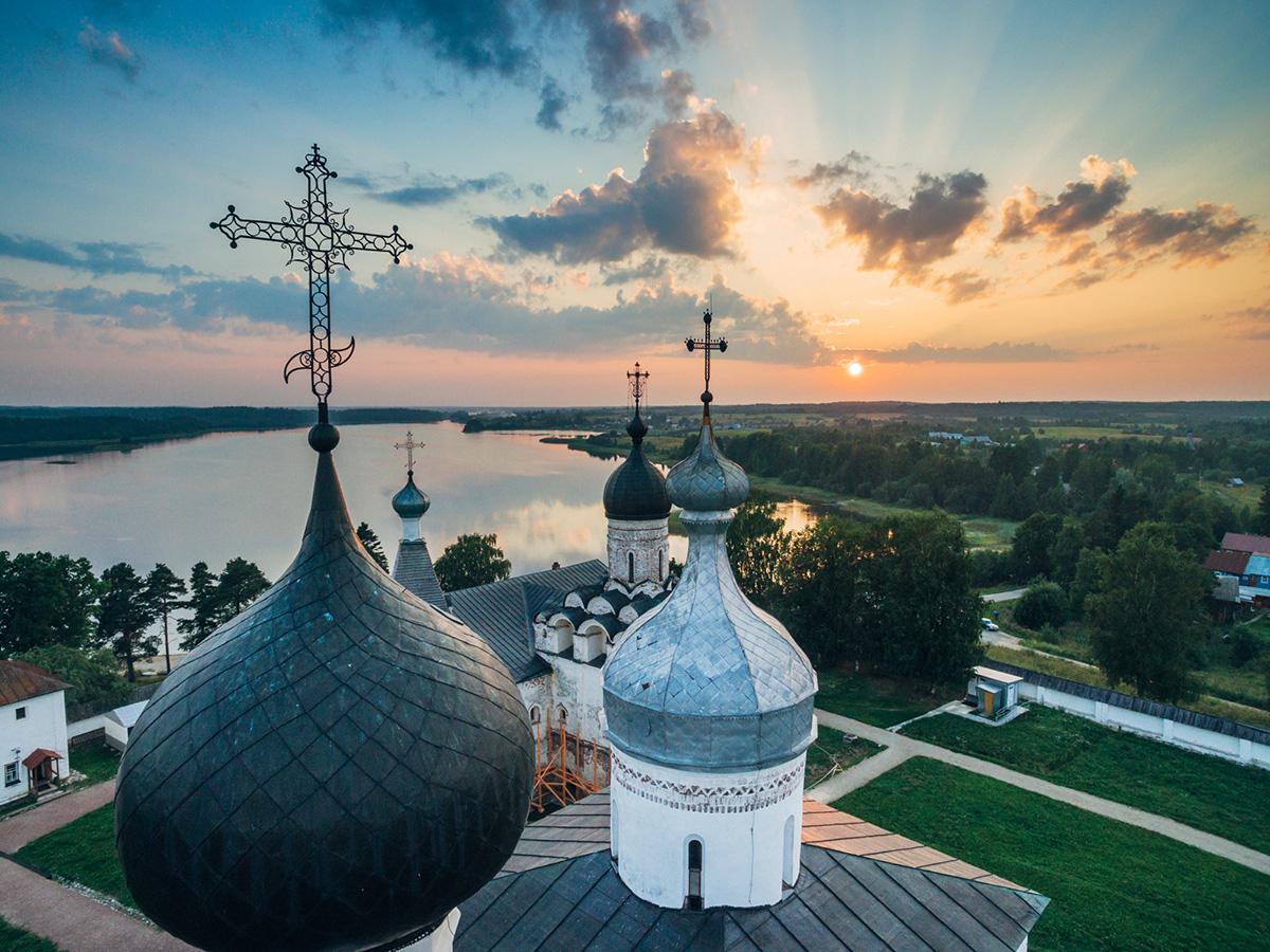 Das Kloster der Heiligen Verklärung in Murom, Oblast Wladimir.
