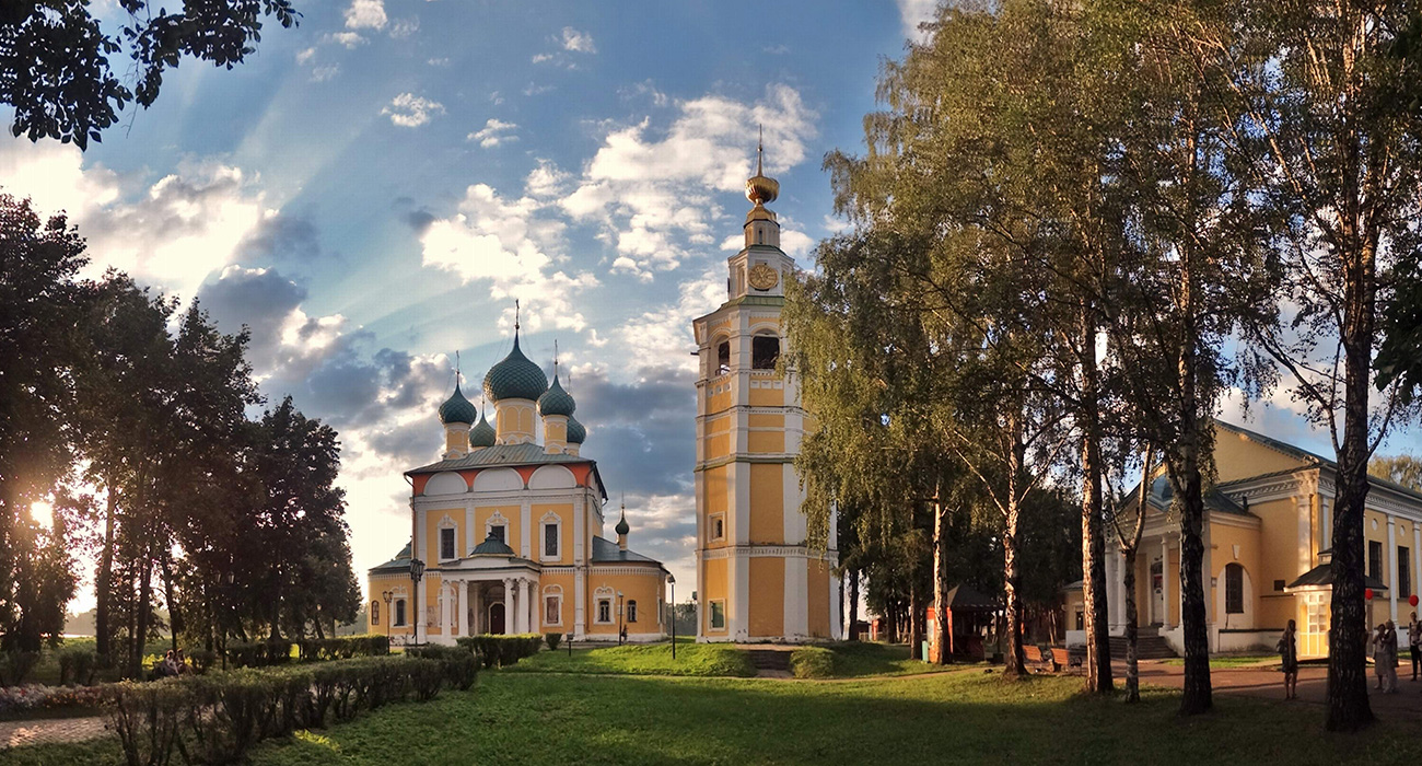 Holy Transfiguration Сathedral in Uglich. Great beauty on a small scale.