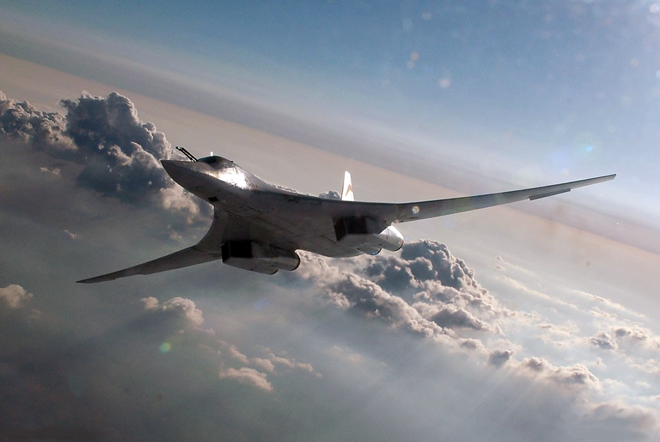 Tu-160M2 'is capable of striking hostile ground objectives in remote strategic areas without entering the zones of operation of anti-ballistic missile and air defense systems.'