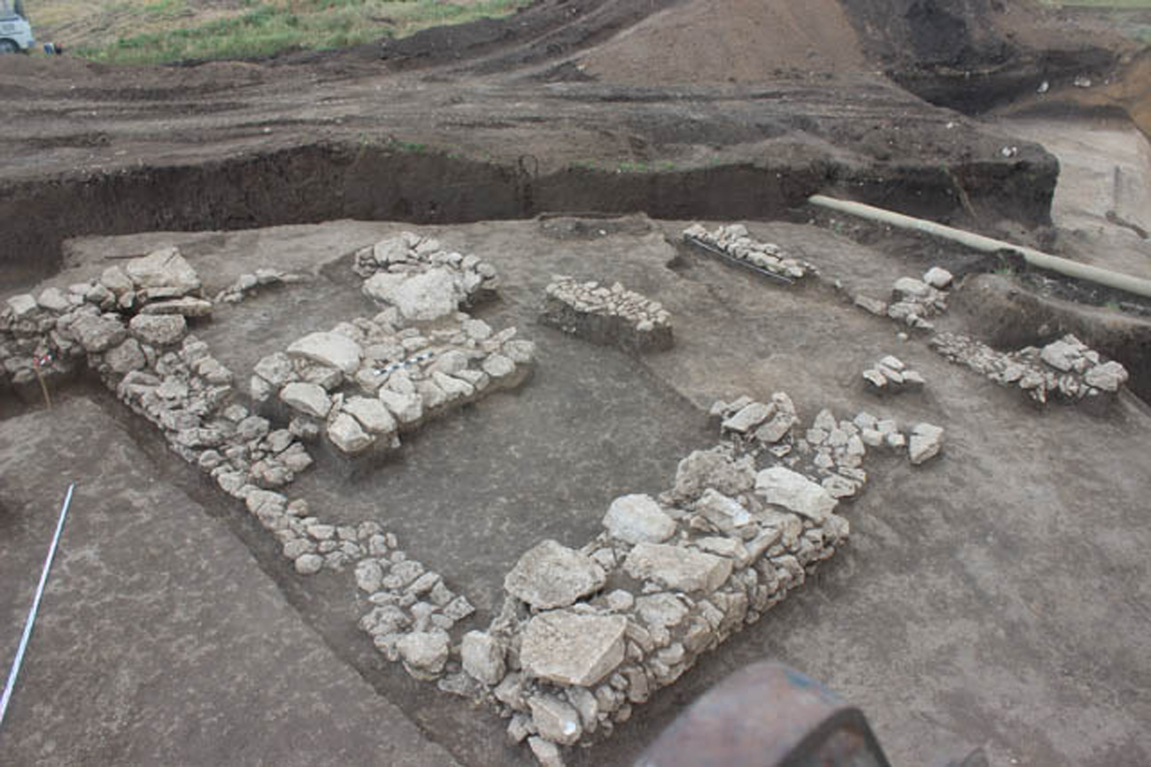 Antiquity fortress found in Crimea.