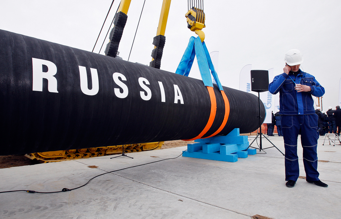 The Nord Stream-2 natural gas pipeline is expected to come into service at the end of 2019.