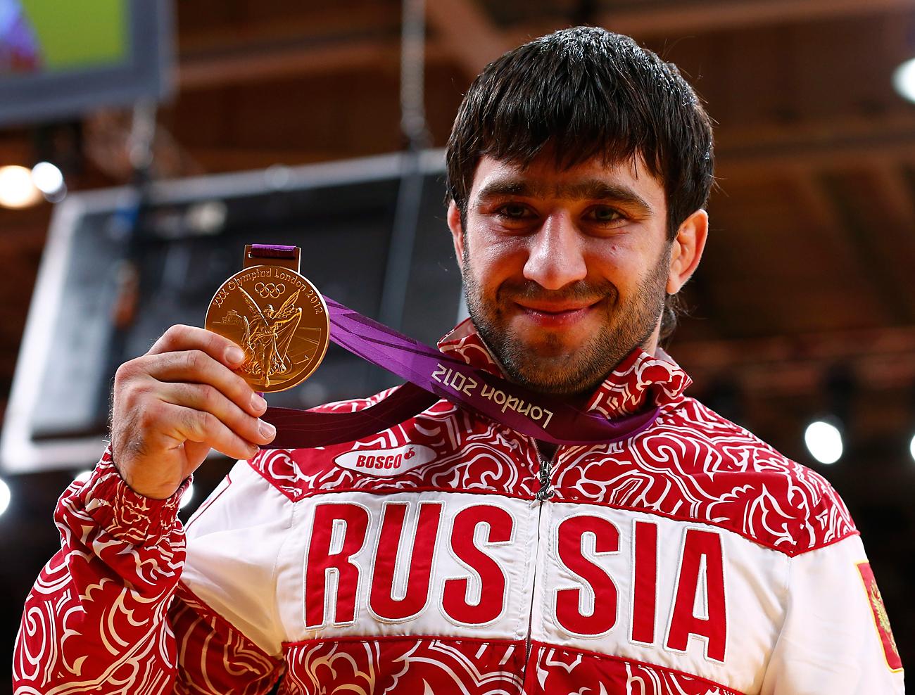 マンスル・イサエフ選手、ロンドン、7月30日、2012年=ロイター通信