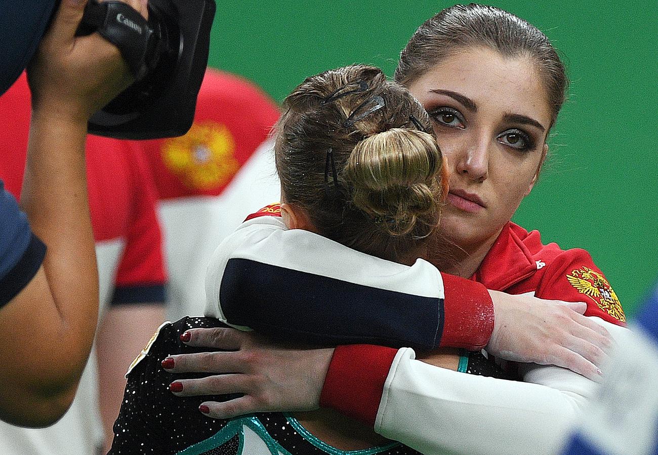 Дарја Спиридонова и Алија Мустафина