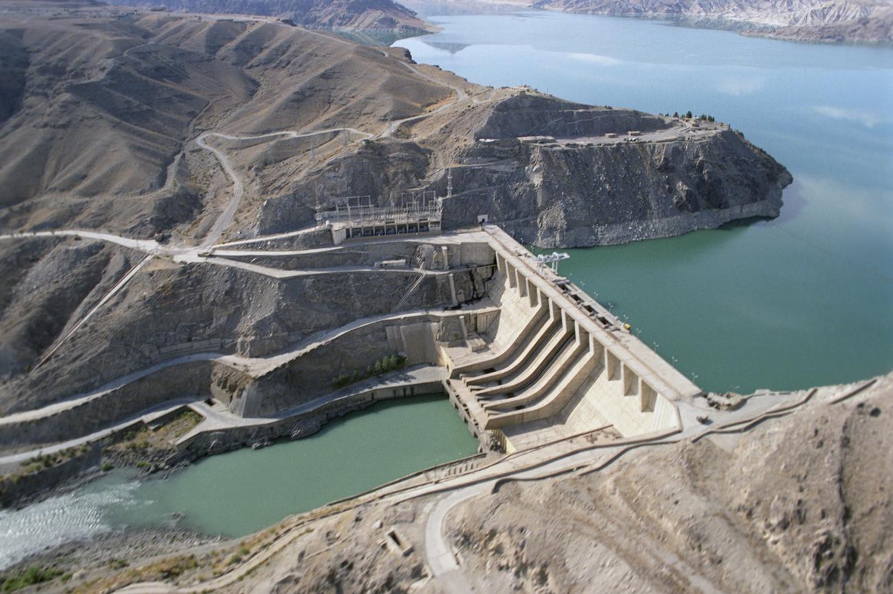 V Afganistanu so številne jezove zgradili s tehnično pomočjo Sovjetov. Vir: RIA Novosti