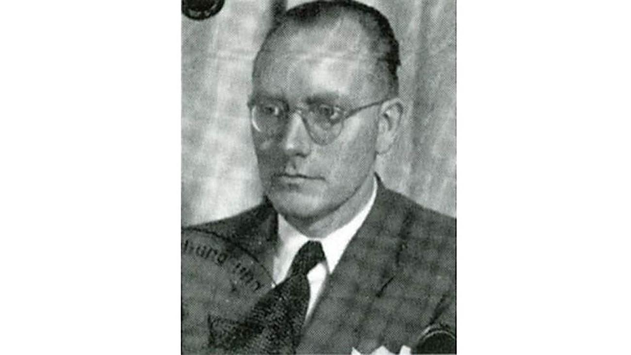 Rudolf Wolters. Archivbild.