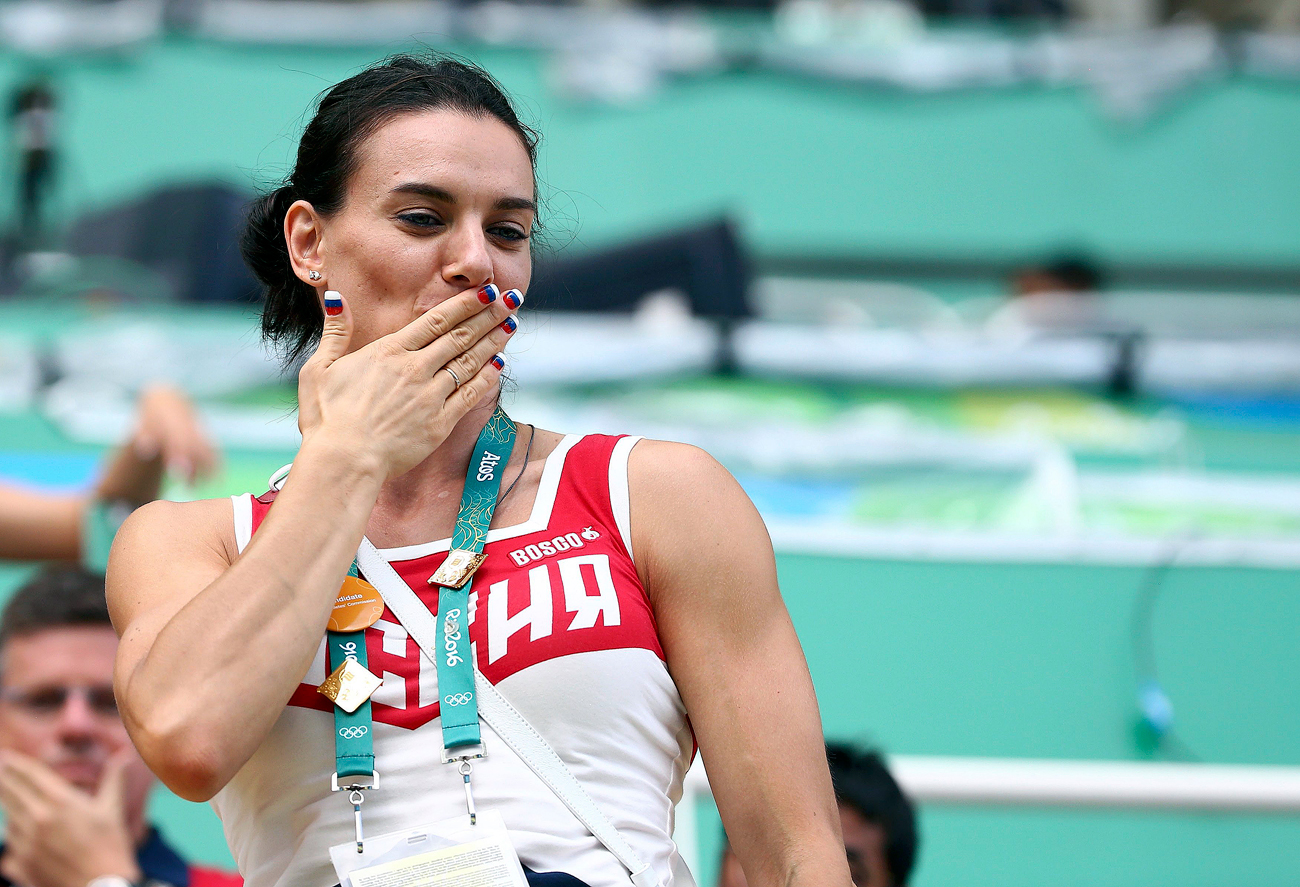 Isinbayeva: decision not to allow Russian athletes to the Olympics 36